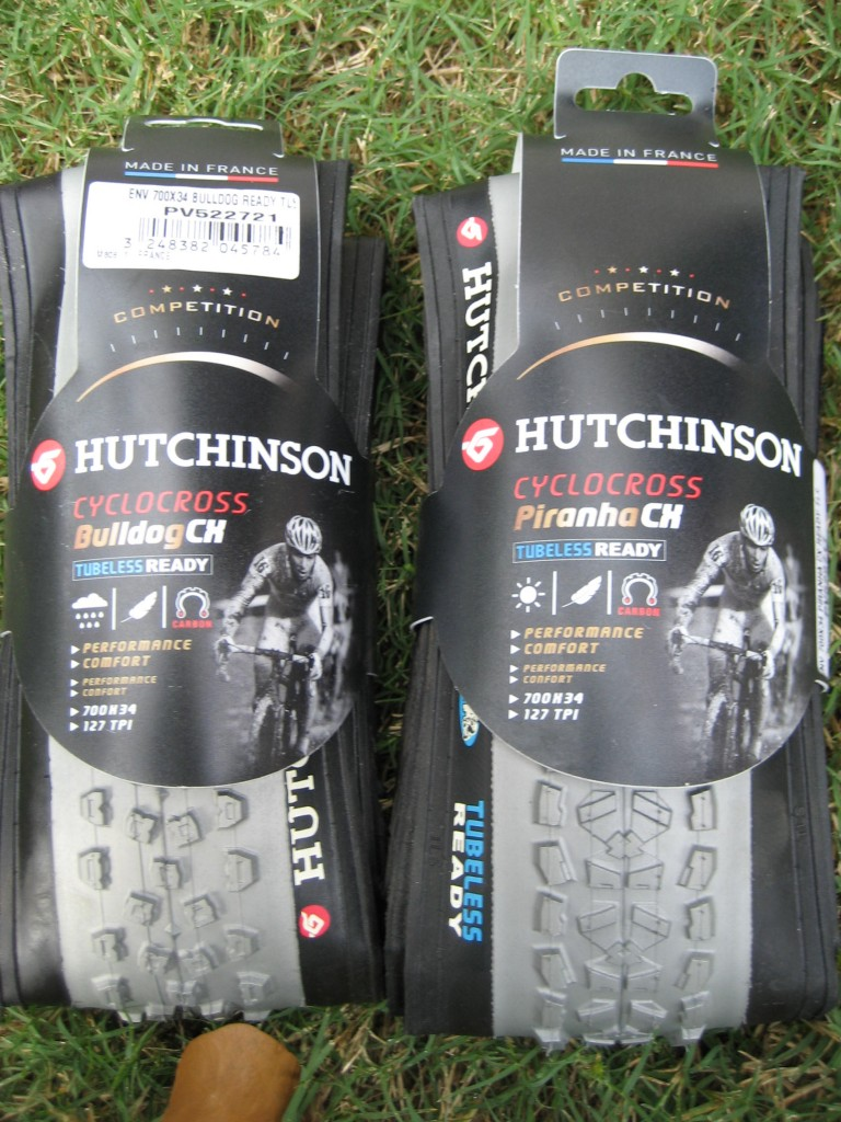 Review: Hutchinson Piranha and Bulldog cyclocross tires
