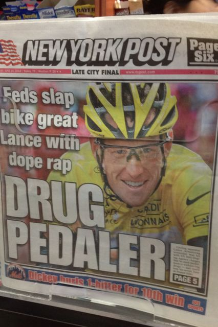 The different realities to the Armstrong doping charges