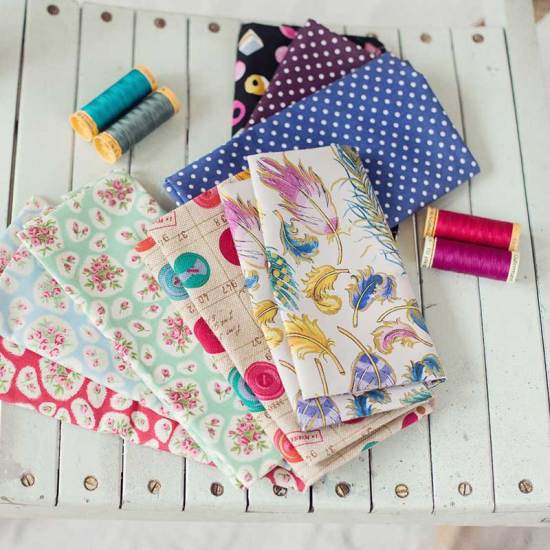 Product photo from Fayes Sewing Box eCommerce site