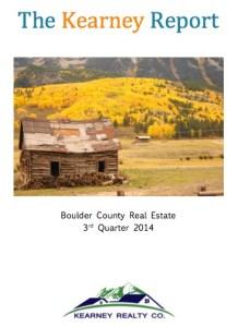 The Kearney Report - Boulder Real Estate Statistics