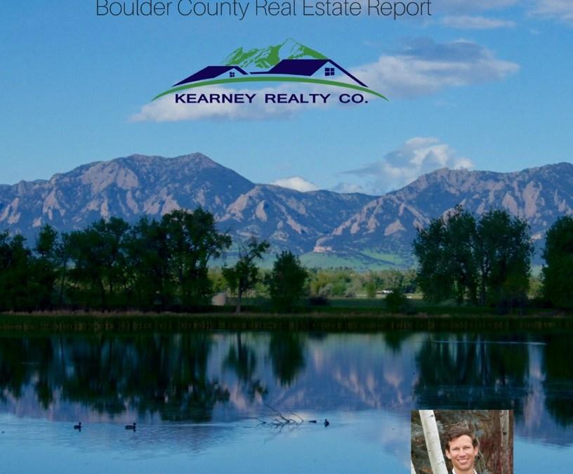 Boulder Area Real Estate Update – The Kearney Report Q2 2017