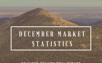 Boulder Real Estate Statistics for December 2017