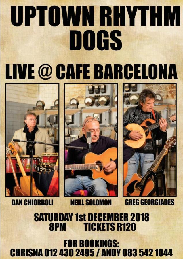 Uptown Rhythm Dogs at Cafe Barcelona