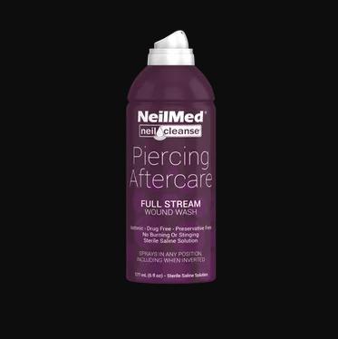 NeilMed NeilCleanse Piercing Aftercare Full Stream Spray