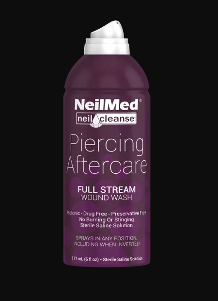 NeilCleanse full stream spray for piercing aftercare
