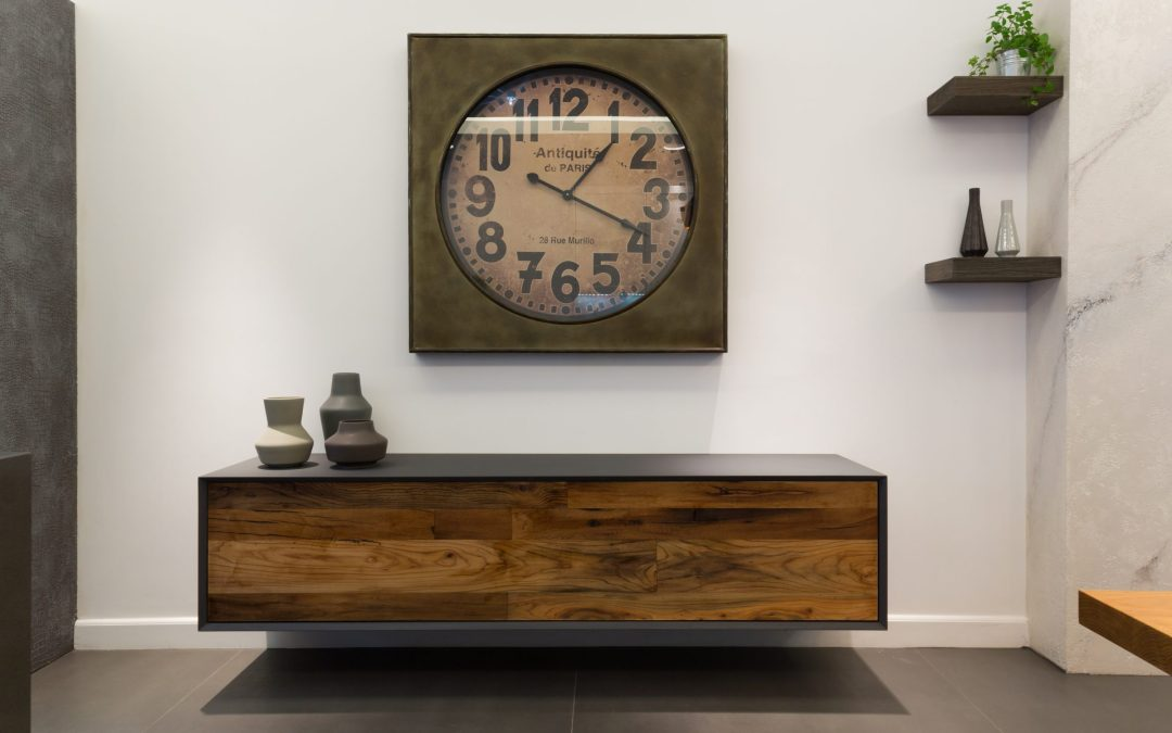 Truly Bespoke: Reclaimed French Oak TV Unit