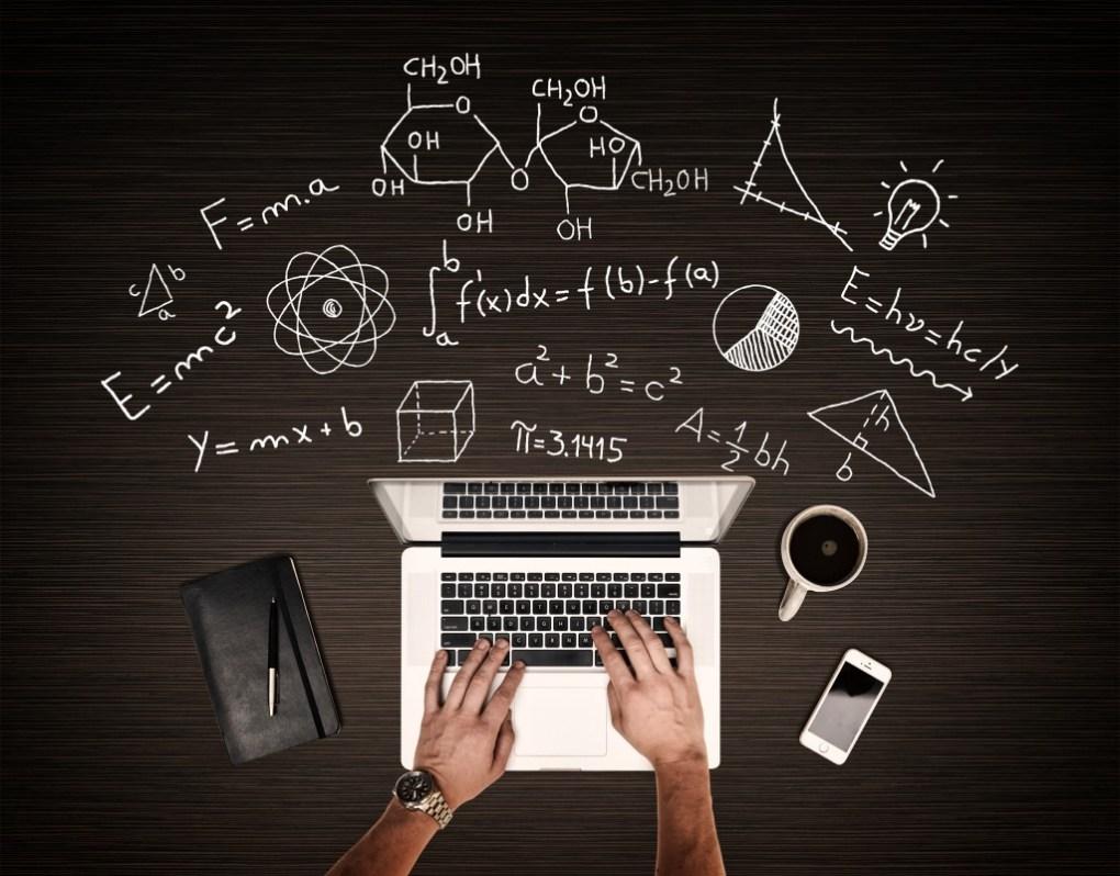 Scientist Working on Laptop