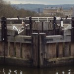 Saltaire and the Five Rise Locks