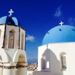 Greece 2013 – Santorini – Blue Domes, Blue Skies and Blue Seas