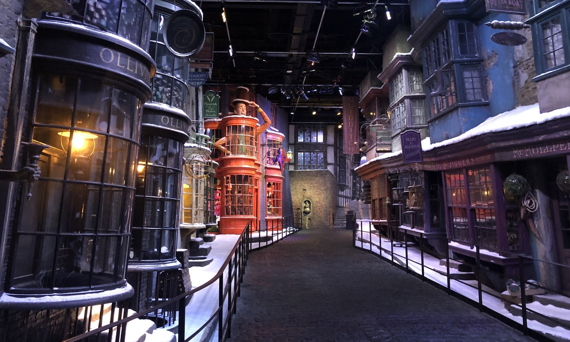 Diagon Alley @ Warner Brothers Studio, London