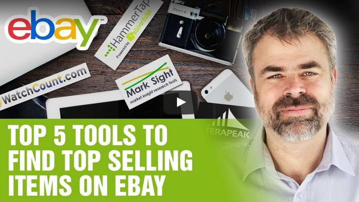 top 5 tools to find top selling items