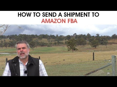 Send A Shipment To Amazon FBA