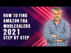 How to find amazon suppliers for FBA