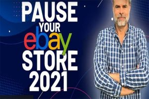 How To Pause Your eBay store