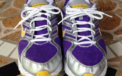Why My Shoes are Purple – My Secret Weapon for Exercising