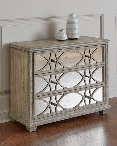 antiqued mirror furniture neiman marcus