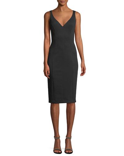 Black Sleeveless Sheath Dress Neiman Marcus