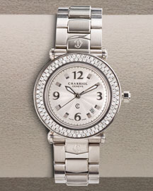3,690.00 USD,  Charriol            Diamond Watch -   		Watches with Diamonds - 	Neiman Marcus - charriol - watch diamond Stylehive BM 298120 from neimanmarcus.com