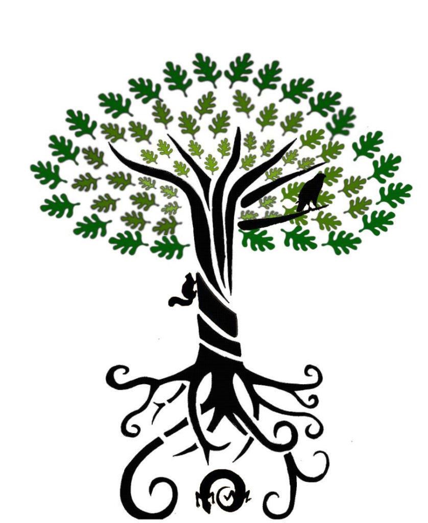 Yggdrasil, el árbol Mundo de la mitologí vikinga por duende14