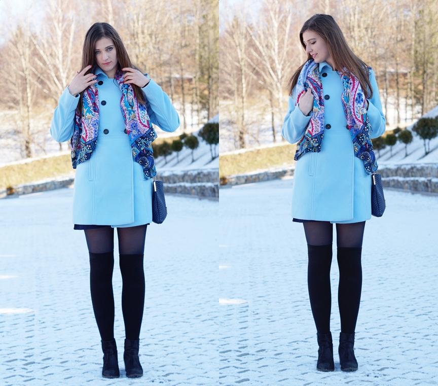 Błękitny płaszcz czyli Witaj zimo
