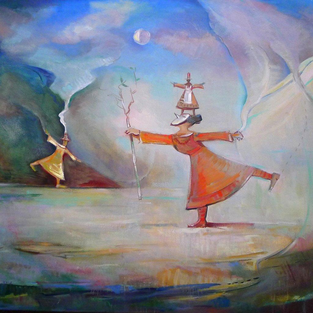 -Ворожба-  -Divination- V. Tryndyk  (Холст,масло)