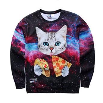 【猫ネタ】異色で独特な世界観!?AMAZONで買える個性的すぎる猫Tシャツとは・・・!?-1911NC-