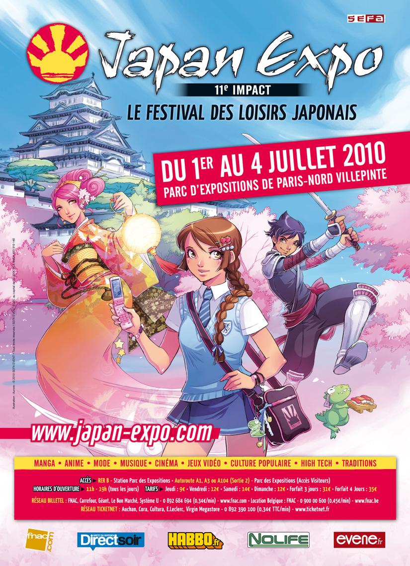 Japan Expo 2010 : nominations + invité d'honneur