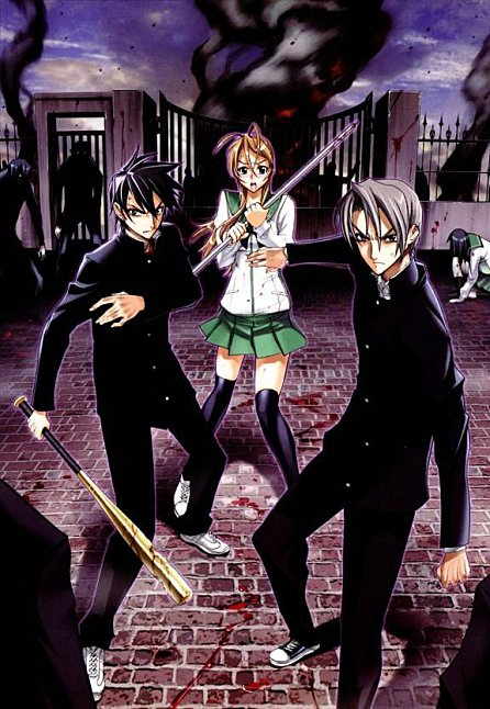 «Highschool of the Dead» : trailer de l'anime