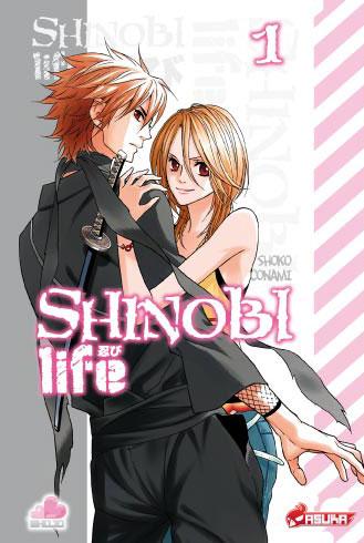 Shinobi life Vol.1 – un shojo rafraichissant !