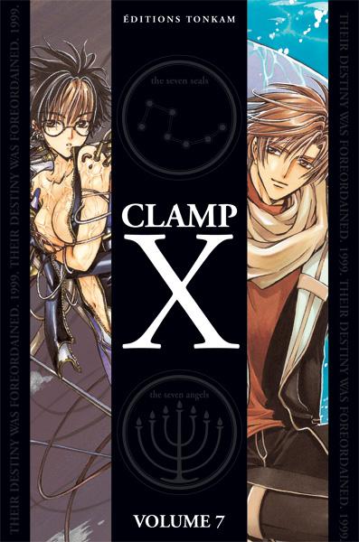 X de Clamp – Réedition double – Vol 7
