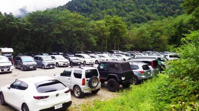 扇沢市営第1駐車場(無料)