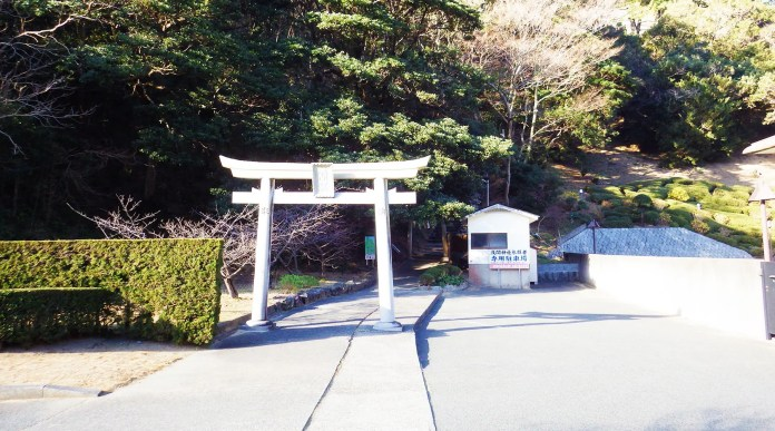 雲見浅間神社参拝者専用駐車場