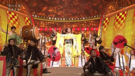 And lots of more traditional Enka performances can be seen.