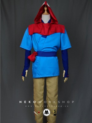 princess mononoke ashitaka cosplay costume