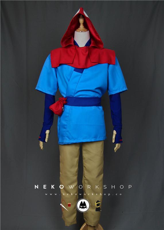 princess mononoke ashitaka cosplay costume