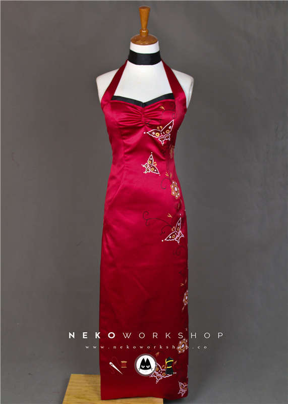 resident-evil-4-ada-wong-butterfly-dress-cosplay-costume-4