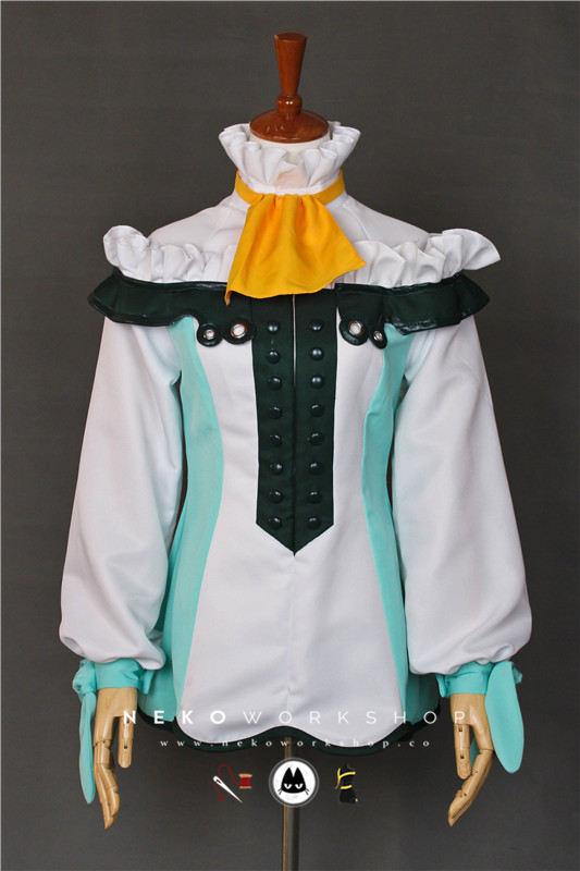 Tales of Abyss Natalia Luzu Kimlasca-Lanvaldear cosplay costume