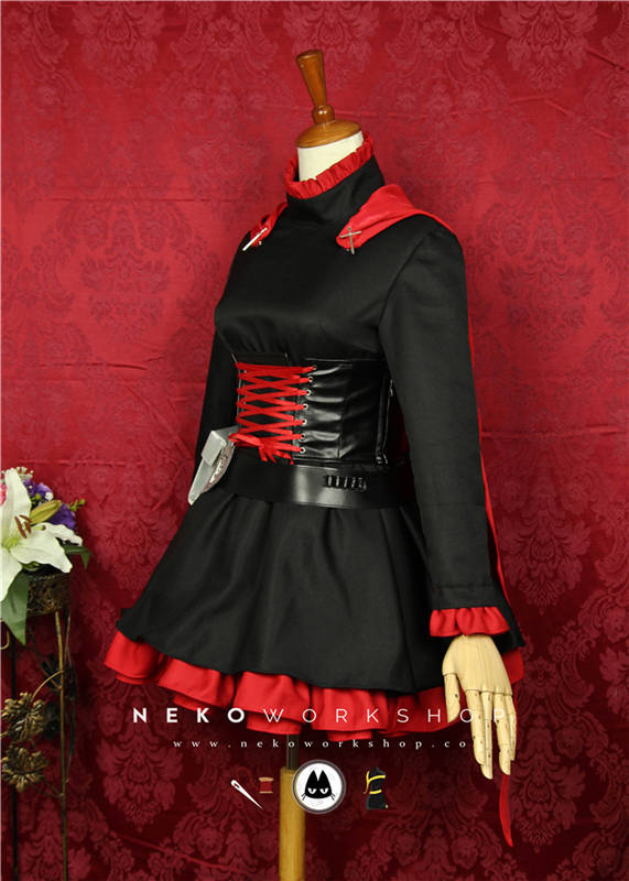 RWBY_Ruby_cosplay_costume_2