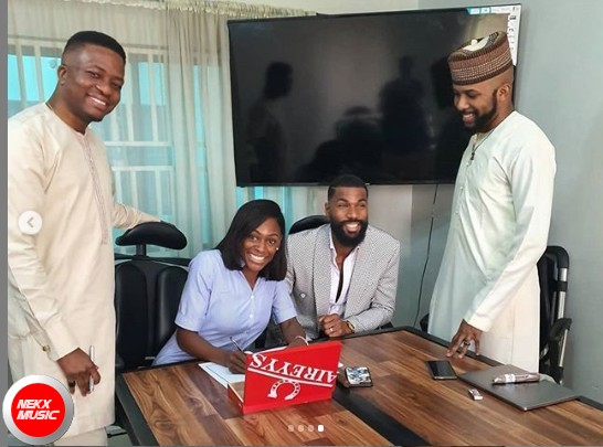 Banky W signs Mike