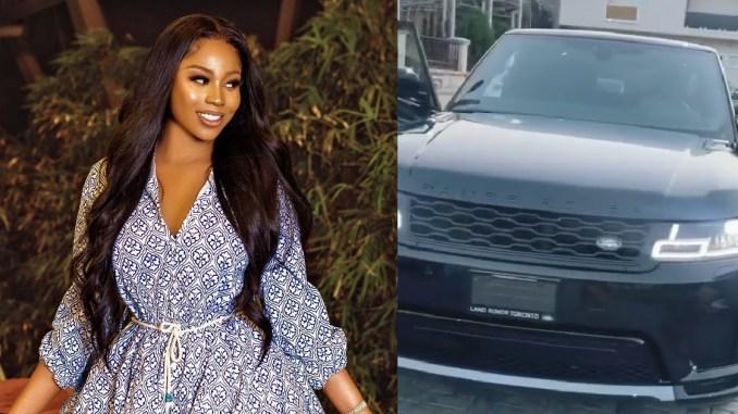 Actress Lilian Afegbai acquires Range Rover 2020 (Video)