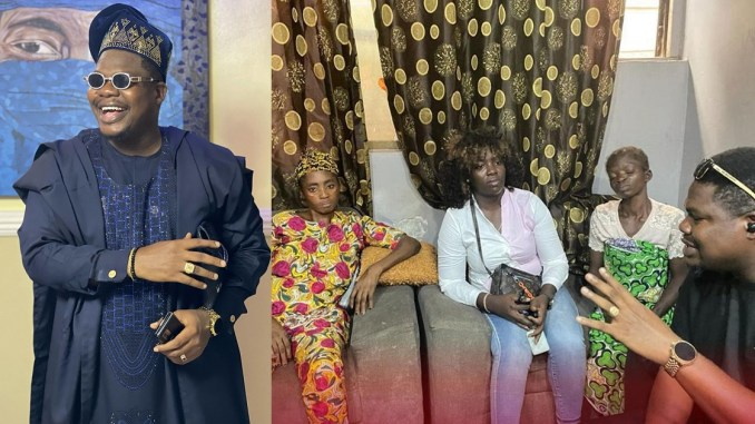 Mr Macaroni donates N500,000 to family of young girl killed during Yoruba Nation rally