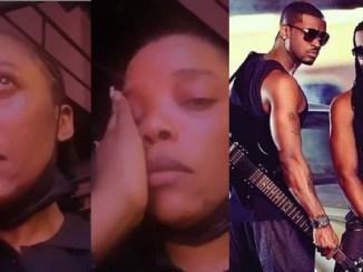Actress, Empress Njamah cries as she begs Peter and Paul Okoye to reconcile (Video)