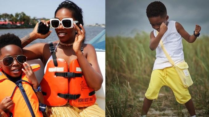 """""""My reason to keep going"""" – Tiwa Savage celebrates son, Jamil on his birthday"""