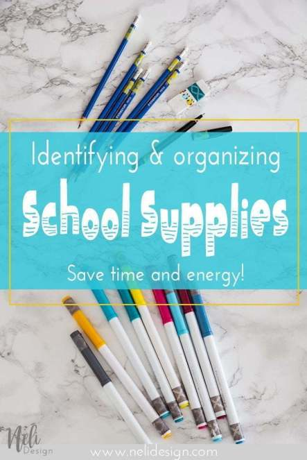 Washi Tape | School supplies | identification | Save time | fourniture scolaire | lunch box | boîte à lunch