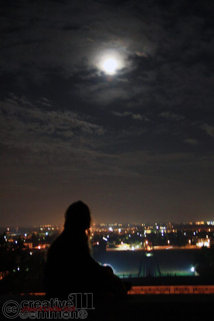 Stregata dalla luna