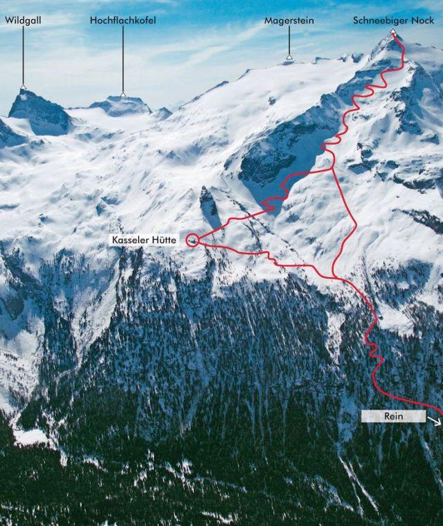 Itinerario Monte Nevoso