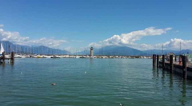 Il lago ritrovato: il lungolago tra Rivoltella e Desenzano