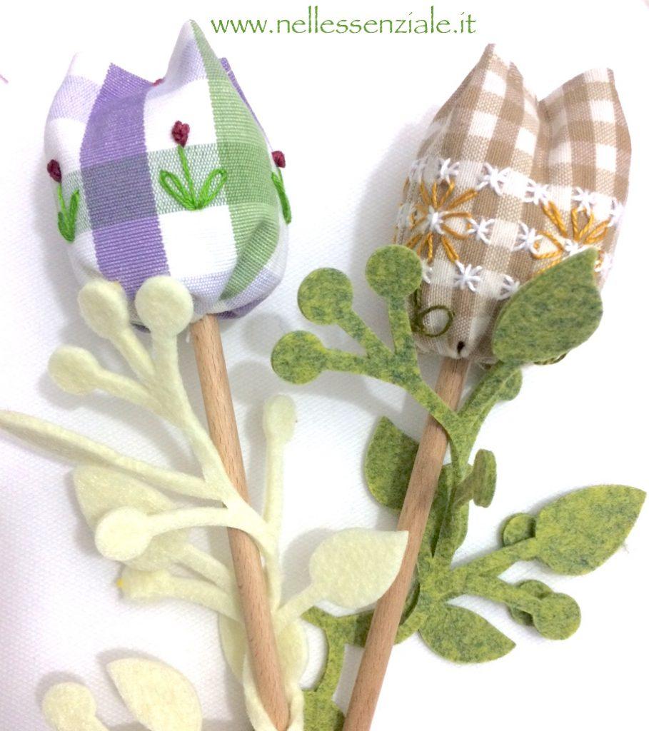Tulipani ricamati