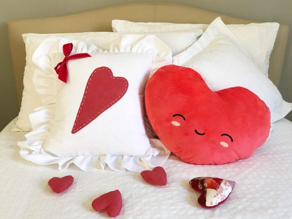 Come fare un cuscino per San Valentino