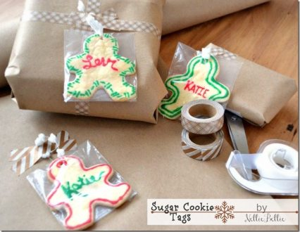 NellieBellie: Sugar cookie gift tags
